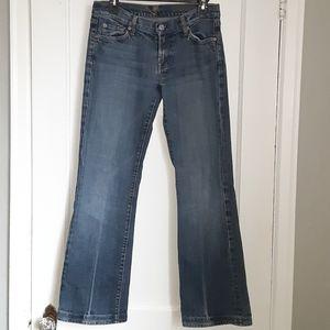 COPY - 7FAMK light wash bootcut jeans size 29